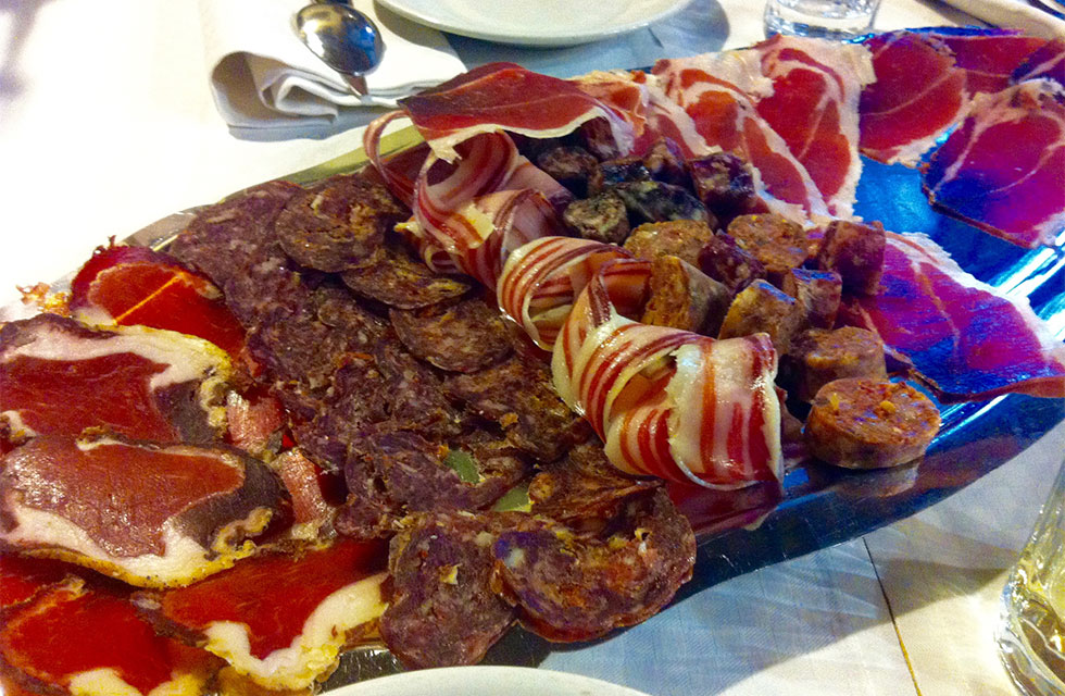 Abruzzo Italy Food Day Tours Homemade Abruzzese cold meats