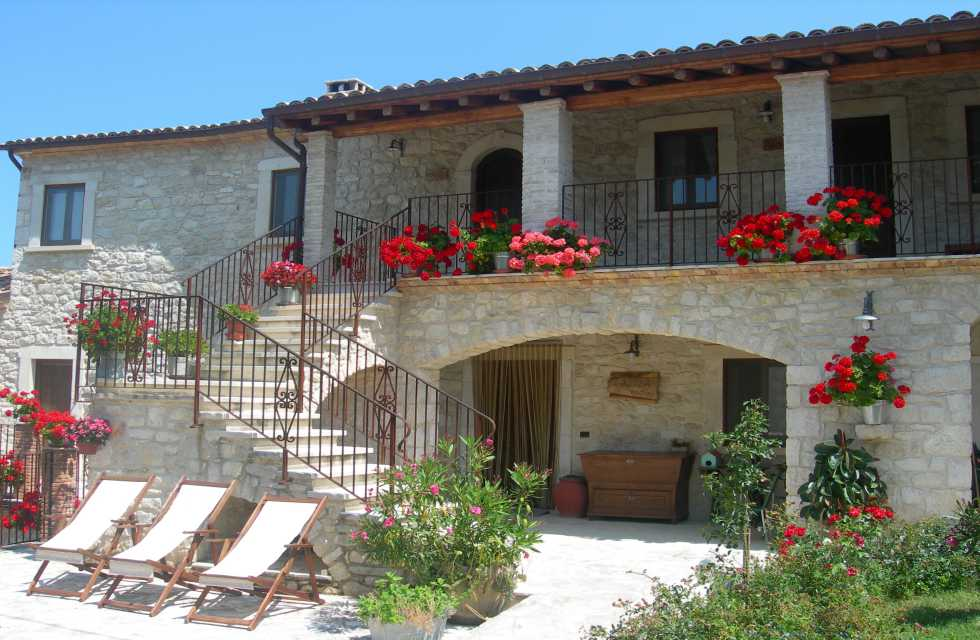 Abruzzo accommodation on our Italy Boutique Tours