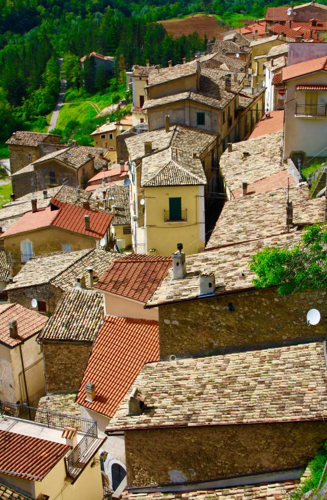 Small Group Tours Italy of Pettorano Sul Gizio in Abruzzo, Italy