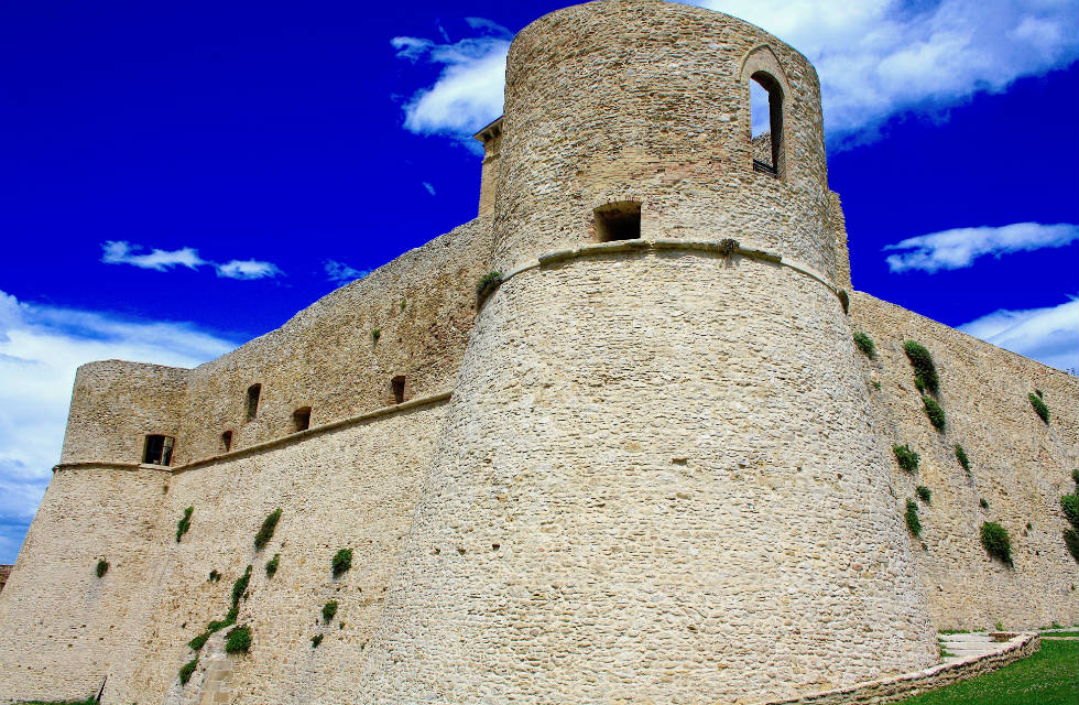 Visit Castello Aragonese in Ortona on our Abruzzo tours Italy