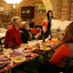 Educational olive oil tasting in an ancient olive press in Bucchianico. Olive oil tasting tour Italy.