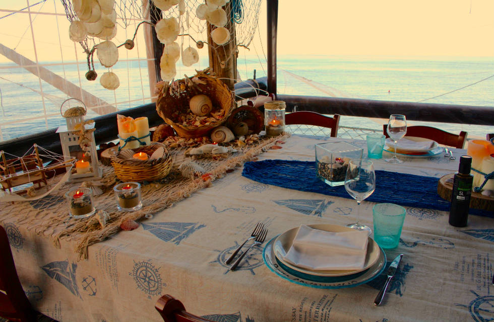 Trabocco dining with Italian Provincial Tours, explore Italy tours