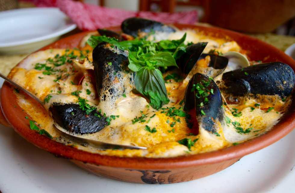 Brodetto di pesce (seafood stew) Italian Food Tours