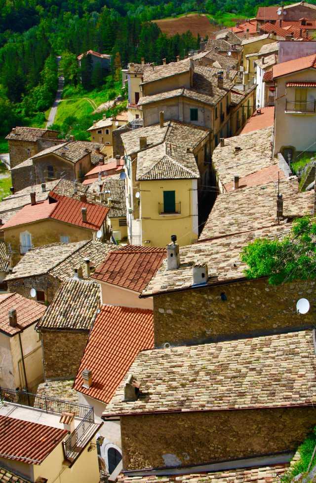 Small Group Tours Italy of Pettorano Sul Gizio in Abruzzo, Italy
