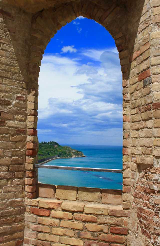 Private Day Tours ItalyThe view from Castello Aragonese in Ortona