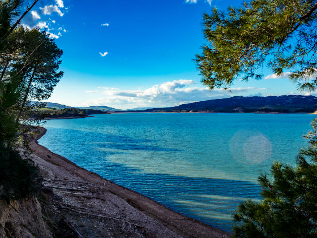 Lago-di-San-Giuliano-Basilicata-Italy